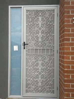 Barry Building Securities Aluminum Security Door