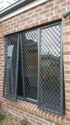 Barry Building Securities Aluminum Security Window