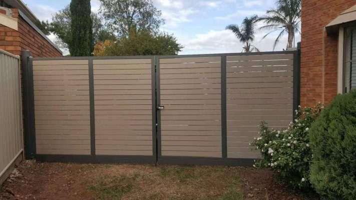 Barry Building Securities Aluminum Security Fence