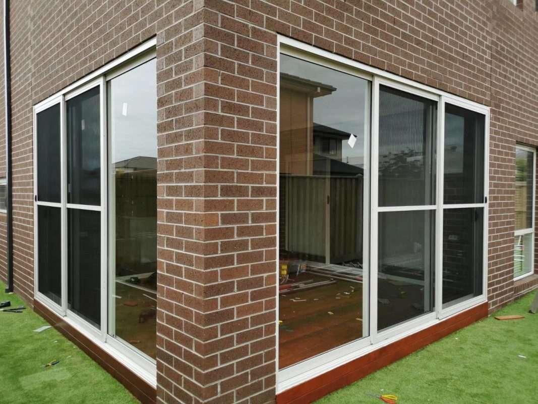 glass window and door